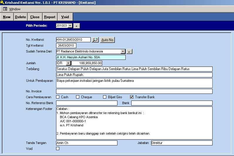 Download Software Pembuat Kwitansi Gratis