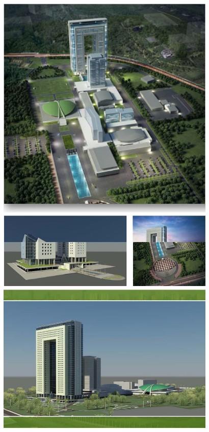 Gedung DPR RI Baru Dibalik Kemegahan Gedung Baru DPR RI