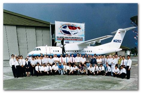 Lahirnya Pesawat Nasional N 250 Gatot Kaca Mengambil Hikmah dari Tragedi Pesawat Sukhoi Super Jet 100
