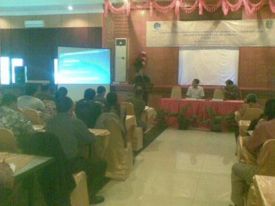 Pengalaman Menjadi Narasumber di Forum Pemberdayaan KIM Bengkayang 2012