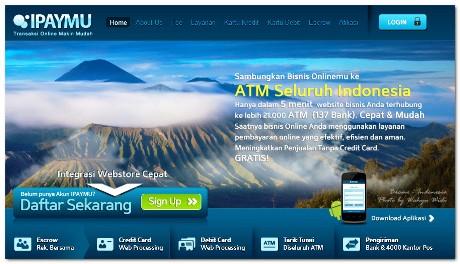 Tampilan Website iPaymu