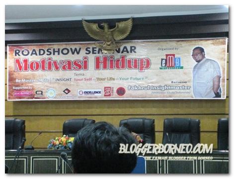 Roadshow Seminar Motivasi Hidup Rektorat Untan