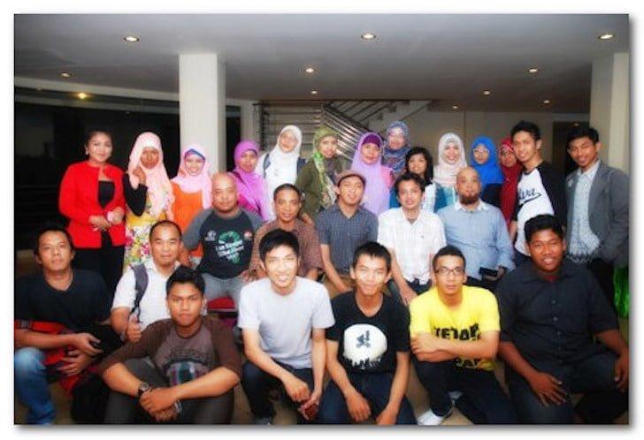 Foto Bareng Peserta Workshop UMKM Goes Online Pontianak