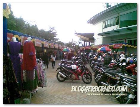 Nusantara Expo 2013 Pontianak - Areal Parkir