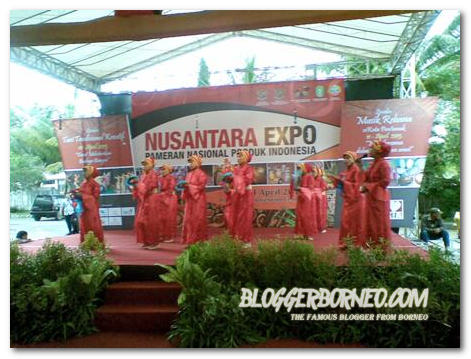 Nusantara Expo 2013 Pontianak - Pertunjukkan Rebana