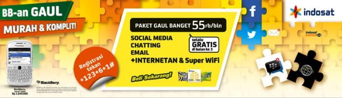 Layanan BlackBerry On Demand Gaul Indosat