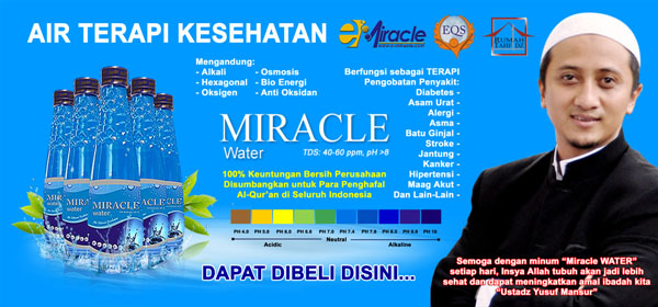 Air Miracle Banner Blogger Borneo