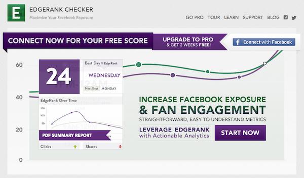 Cara Mengukur EdgeRank Halaman Facebook 1
