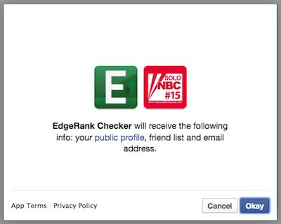 Cara Mengukur EdgeRank Halaman Facebook 2