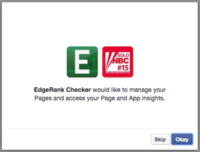 Cara Mengukur EdgeRank Halaman Facebook 3