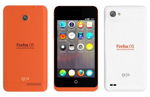 Firefox OS Geeksphone Device