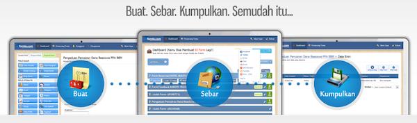 Tampilan Layanan Cara Membuat Form Online Gratis