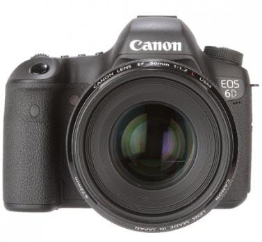 Camera Canon EOS 6D