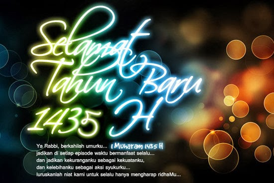 Selamat Tahun Baru Islam 1435 Hijriah