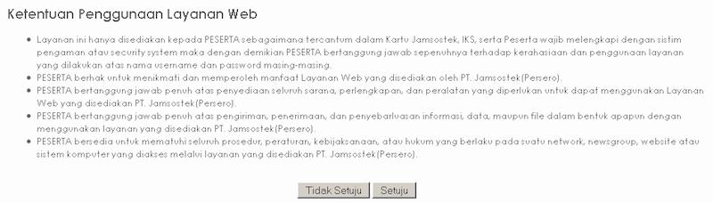 Cara Mendaftar Jamsostek Online 2