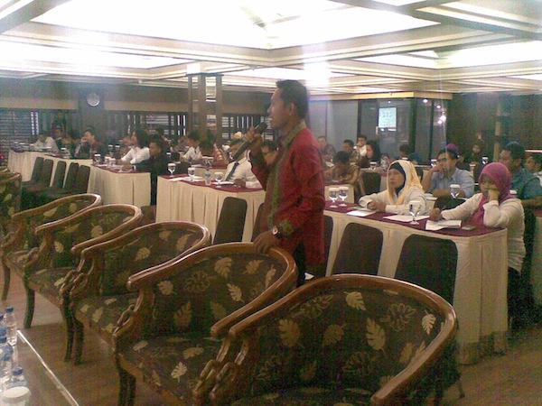 Para Peserta Diklatda I HIPMI Kalbar 2014