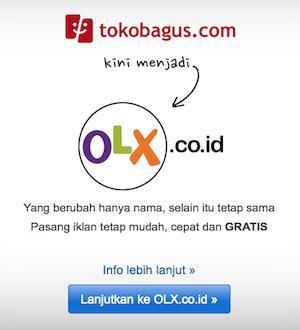 TokoBagus.Com Berubah Menjadi OLX.CO.ID