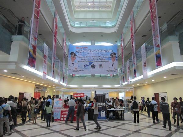 Lokasi Kegiatan Festival TIK Manado 2014