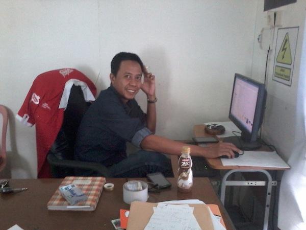 Owner Swadesi Printing Pontianak