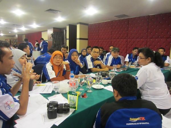Diskusi Rencana Kerja Relawan TIK Indonesia