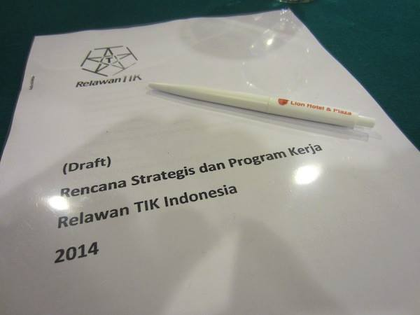 Draft Rencana Strategis dan Program Kerja Relawan TIK Indonesia