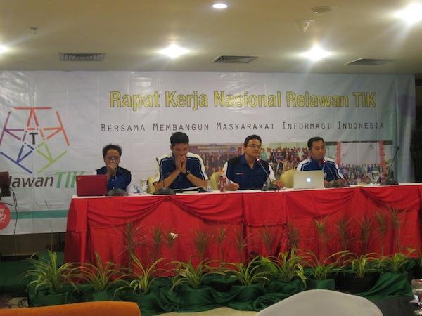 Pengurus Pusat Relawan TIK Indonesia