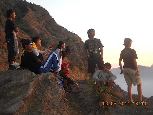 Kenangan Bersama Para Sahabat Para Pendaki