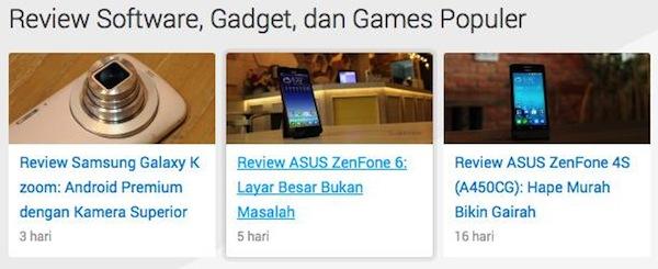 Jalan Tikus - Review Software, Gadget, dan Games Populer