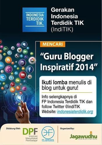 Lomba Blog Guru Inspiratif 2014