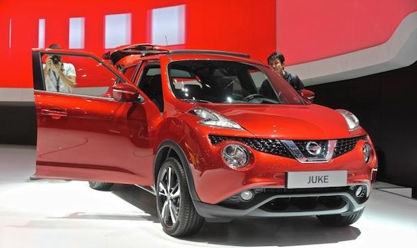 Nissan Juke Facelift 2014