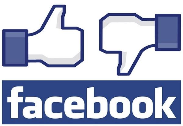 Like or Dislike Facebook Button