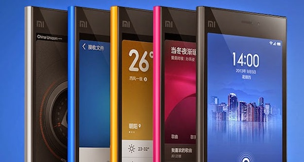 Model Xiaomi Mi3