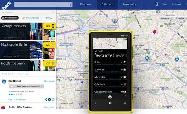 Nokia HERE Application