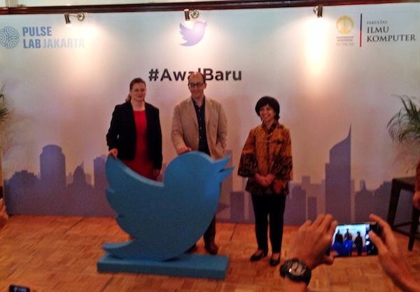 CEO Twitter Foto Bareng dalam Peluncuran Resmi Kantor Twitter di Jakarta