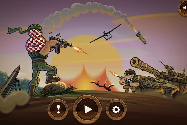 Game Gaza Man via Google Playstore