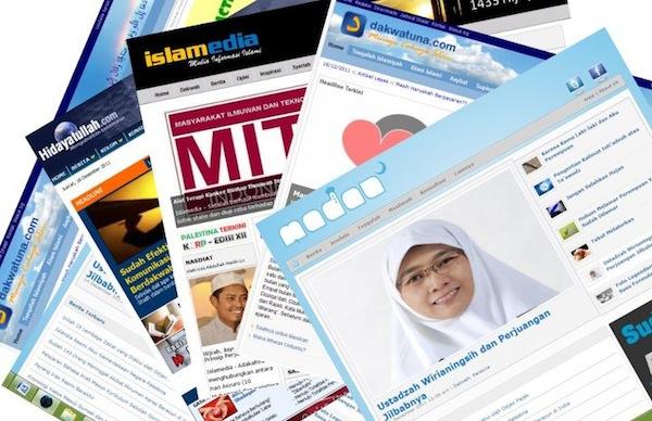 Kominfo dan BNPT Blokir 19 Situs Islam