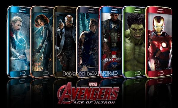 Samsung Galaxy S6 Edge Avengers Edition