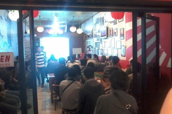 Suasana Kopdar dan Mini Seminar ke 26 di Khalila Burger and Ramen