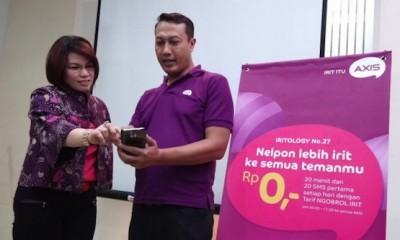 AXIS Mempersembahkan Konsep Iritology bagi Para Penggunanya di Indonesia