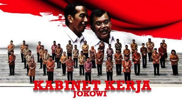 Kabinet Kerja Pemerintahan Jokowi