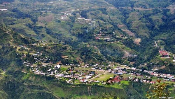 Lokasi Kabupaten Tolikara Papua