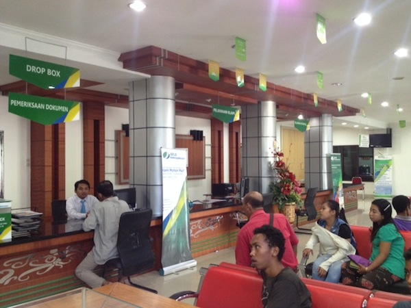 Ruangan Kantor Jamsostek Pontianak Kalimantan Barat