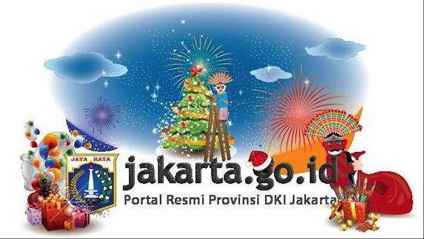 Tampilan Website Jakarta.Go.Id Versi Lama
