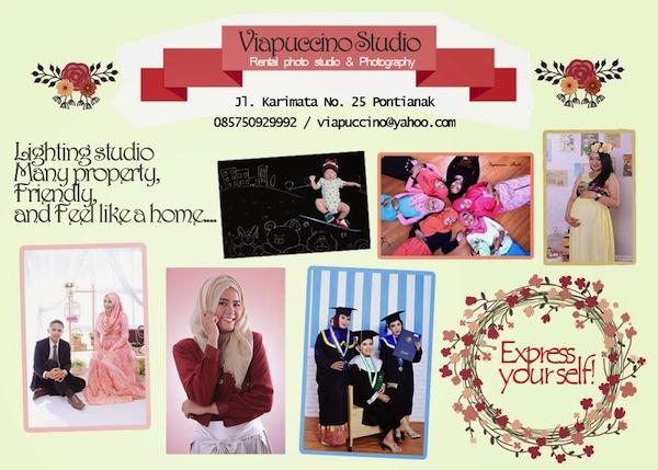 Viapuccino Studio Jasa Fofografi Pontianak