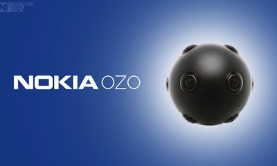 Virtual Reality Camera Nokia OZO
