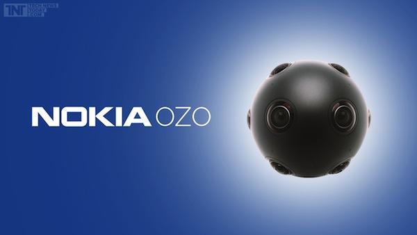 Virtual Reality Camera Nokia OZO