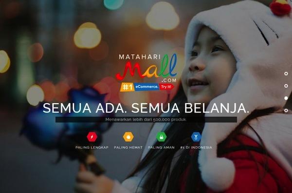 Matahari Mall Online Store