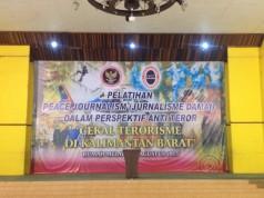 Pelatihan Peace Journalism di Rumah Adat Melayu Pontianak