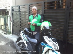 Tukang Gojek di Jakarta