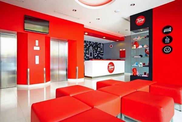 Tune Hotel Bekasi Lobby Room